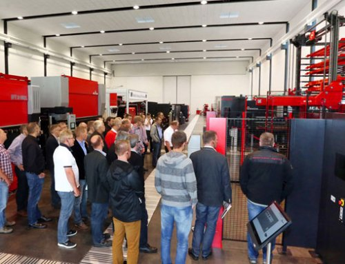 "SOLUTION inhouse exhibition in Haan: ""Automation Days""  at SOLUTION"