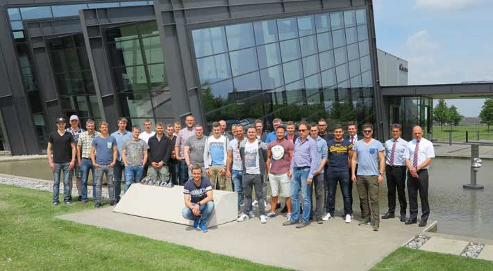 Collaboration with the BBS T1 Ludwigshafen and HWK Münster: Strong for the future