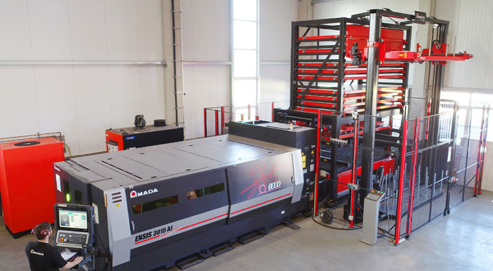 """Trio Metall and Design GmbH,  Luhe-Wildenau: """"Competitive through automation"""""""