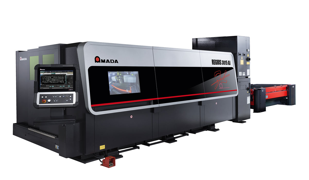 AMADA REGIUS-3015A: The best of its kind